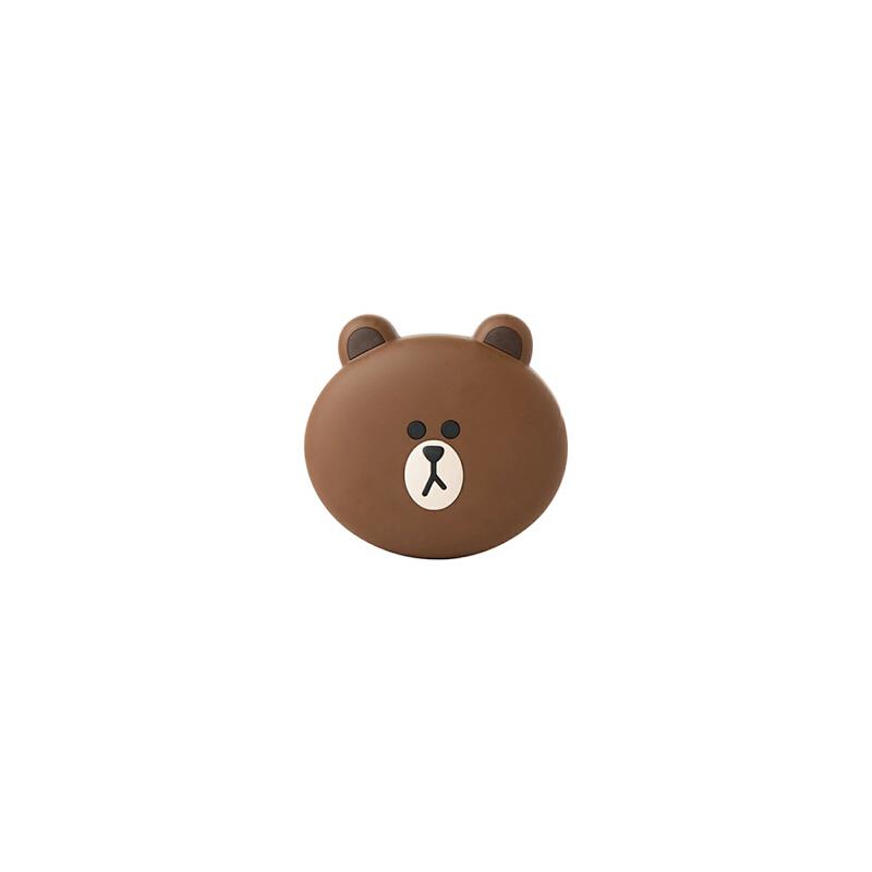 韩国卡通 莎莉 布朗熊充电宝 可爱迷你 苹果iphone7 6plus 安卓 小米