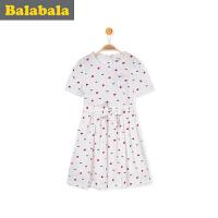 巴拉巴拉童装女童连衣裙2017 夏季新款儿童裙子公主裙童装夏装休闲