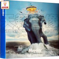 正版音乐 五月天: 步步自选作品辑(巨象登陆版 2CD)赠海报 光碟专辑CD唱片