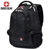 SWISSGEAR背包 双肩电脑包15.6英寸笔记本商务防泼水旅行包男女书包