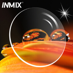 Inmix高端超薄眼镜片 1.74非球面树脂眼镜片 防辐射近视眼睛片3014A