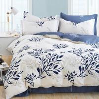 御目 四件套 美式田园公主纯棉全棉床笠款床单被套被罩枕套4件套儿童床品1.2m1.5m1.8m家居床上用品
