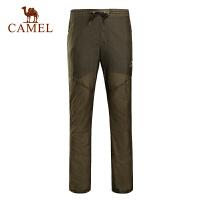 camel骆驼户外男款皮肤裤 防水透气舒适休闲速干皮肤长裤