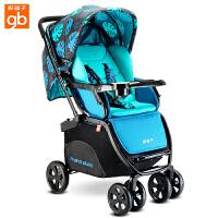 【当当自营】好孩子婴儿推车 婴儿车轻便 高景观婴儿推车 儿童宝宝推车 婴儿车推车C450-h 落叶蓝