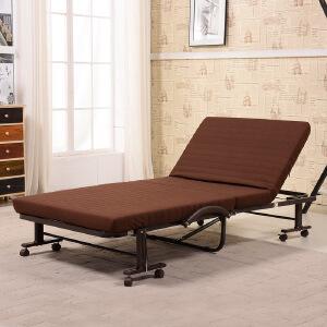 未蓝生活折叠床办公室午睡单人金属床 儿童保姆陪护午休床 床垫宽80cm厚8cm VLM80