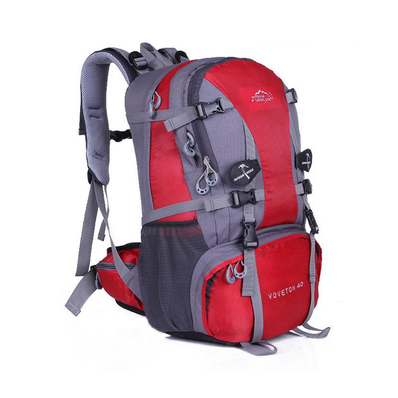 多功能男双肩包女背包 徒步登山户外旅行包40l野营包