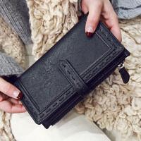 2016冬季新款粗线钱包欧美长款手拿包时尚女包休闲零钱包女士钱夹  NN-CY-5230