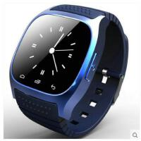 大方潮流学生休闲手表QQ微信蓝牙LED电话音乐运动户外男电子表多功能智能手表
