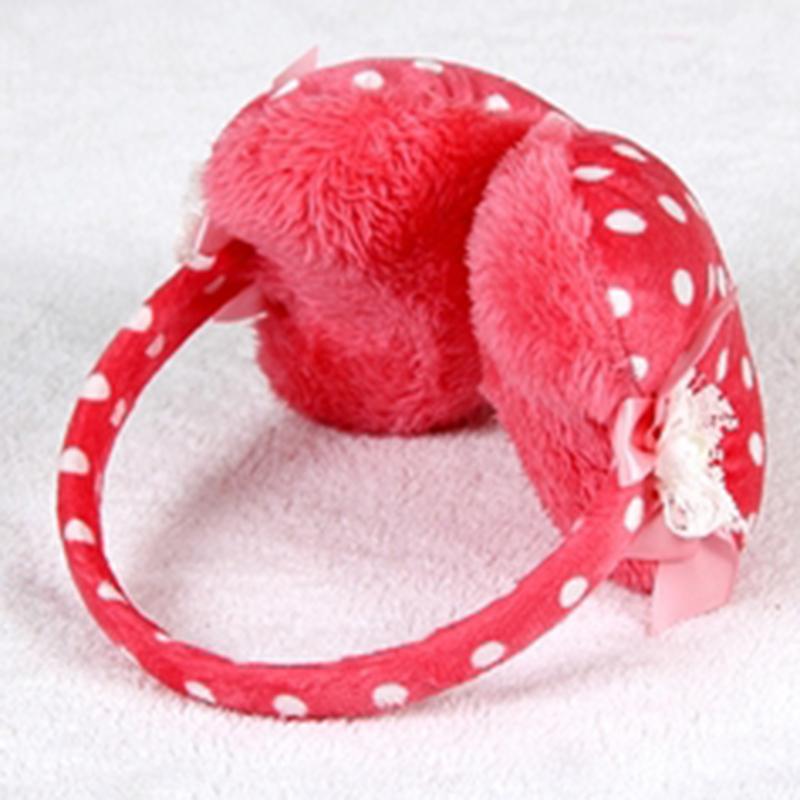 心形耳包 耳罩 加厚桃心耳套 冬季儿童保暖耳捂 时尚可爱宝宝护耳暖罩