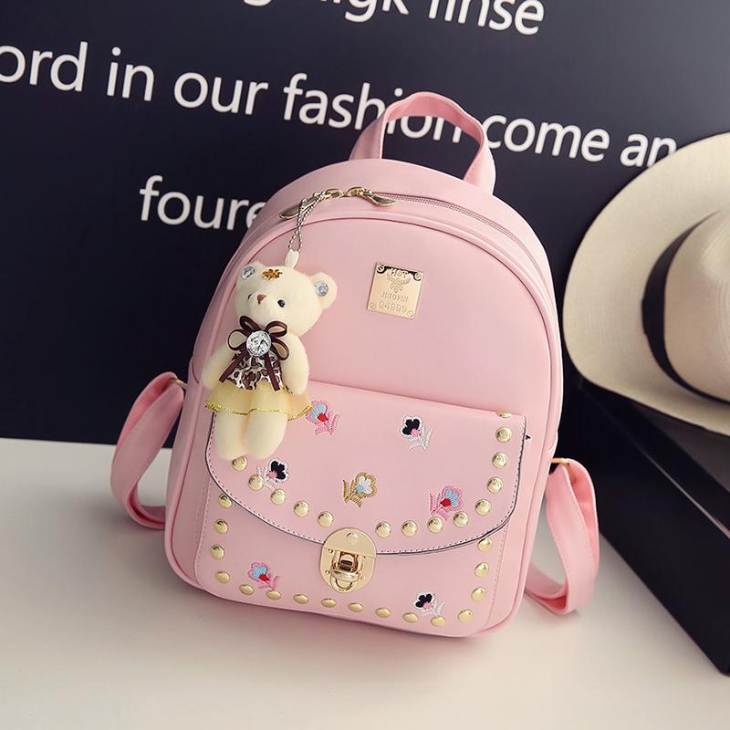 小女孩儿童双肩包旅游背包女童小学生时尚休闲可爱卡通书包韩版潮