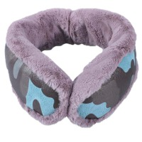 冬季可折叠保暖毛绒围脖耳套两用男女耳罩后戴耳包情侣耳捂