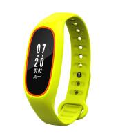 智能手环血压心率监测睡眠运动手表苹果安卓防水 橙草绿