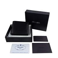 PRADA短款钱包 黑色款2M0912 2E6Y F0002
