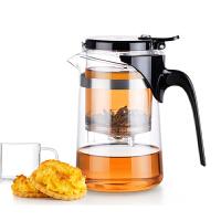 尚明飘逸杯泡茶壶耐热玻璃杯玲珑杯过滤茶杯茶具套装SAG-08