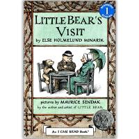 原版儿童英文绘本I Can Read 汪培�E第二阶段之Little Bear's Visit 小熊的拜访  送音频请联系客服