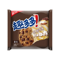 亿滋 趣多多 大块咖啡味 大块曲奇饼干 216g 袋装 休闲小零食
